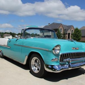 55 bel air convertible